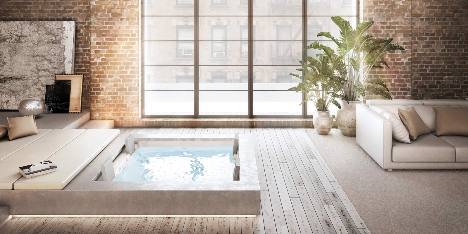 V domácím wellness nesmí chybět whirlpool