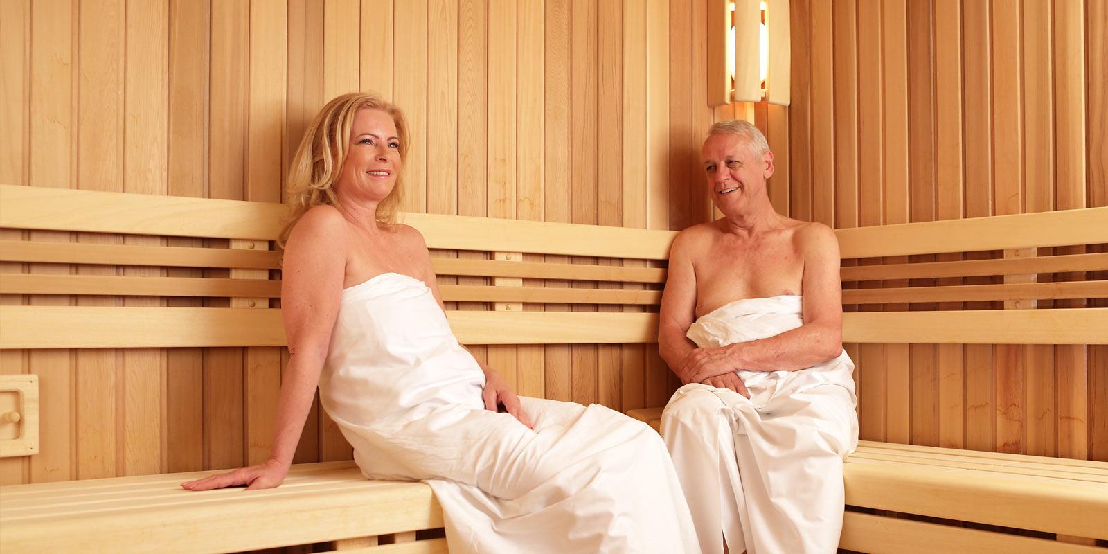 Sauna ve veřejném wellness