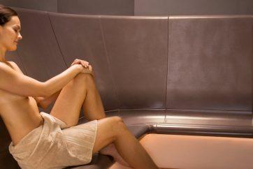 Parní kabina vyžene neduhy z vašeho těla