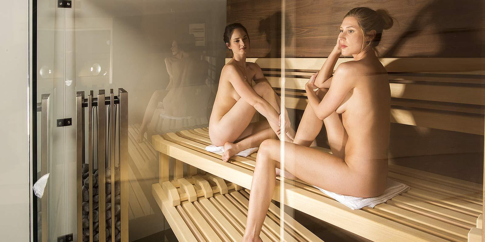 Prosklená sauna Edge