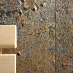 Bio sauna Modus s obkladem z přírodního kamene