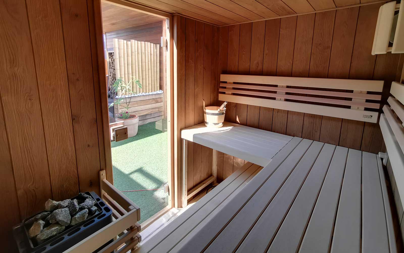 venkovní sauna Native