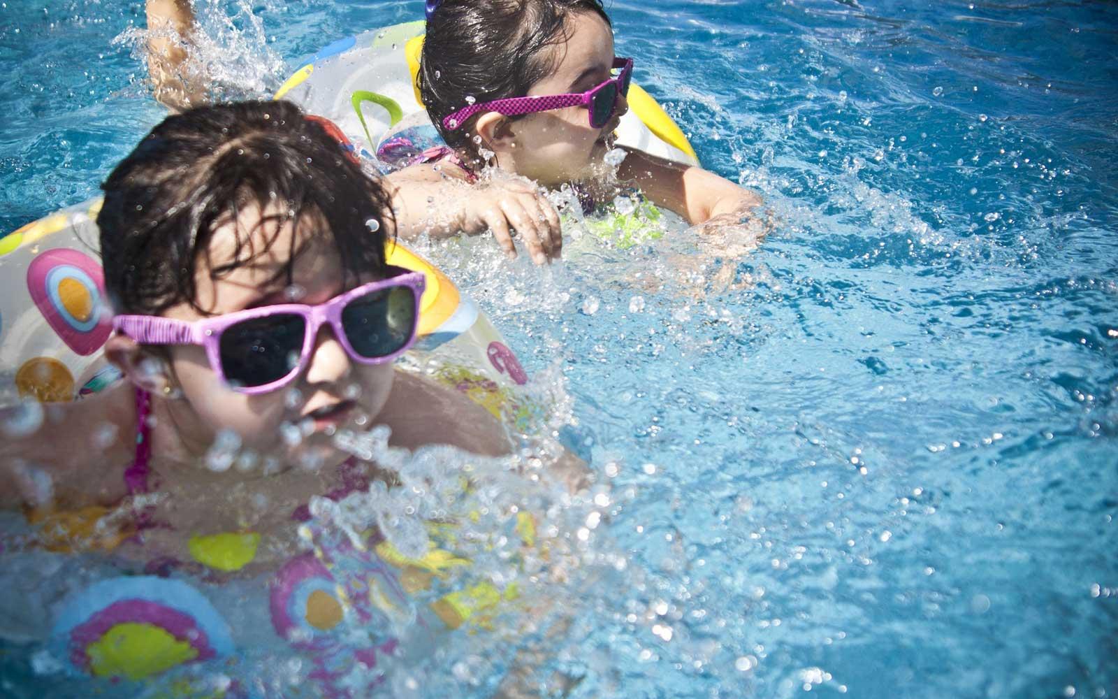 Bazén ocení hlavně děti