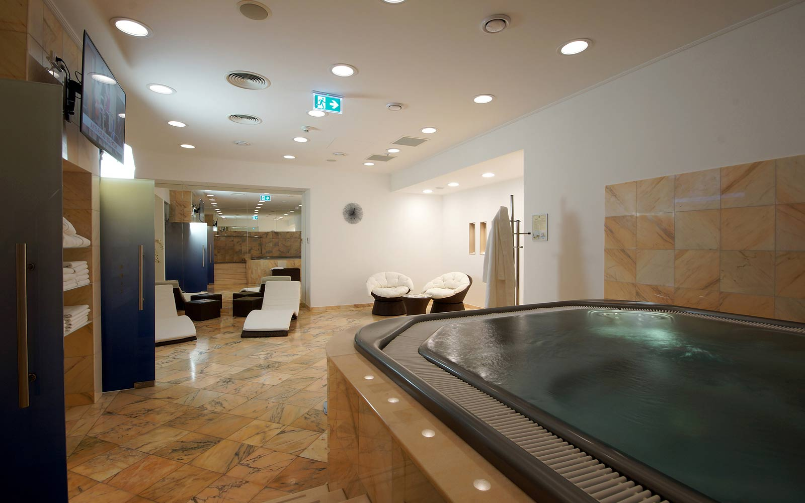 Luxusní wellness v pražském hotelu Savoy
