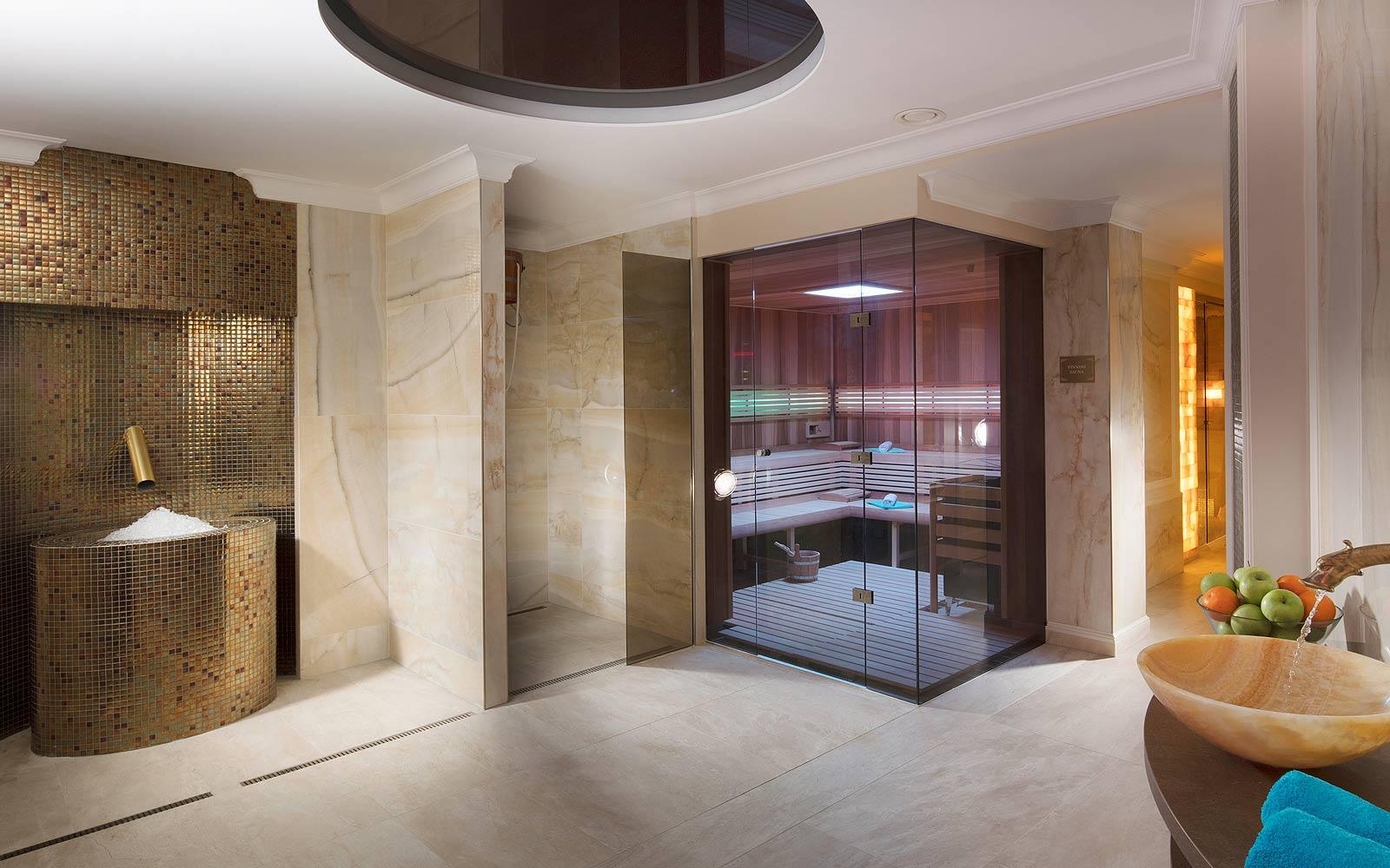 Luxusní saunový svět vChateau Monty