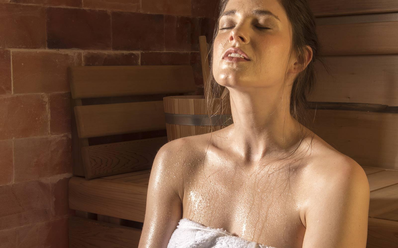 Saunováním se zlepší termoregulační schopnost organismu