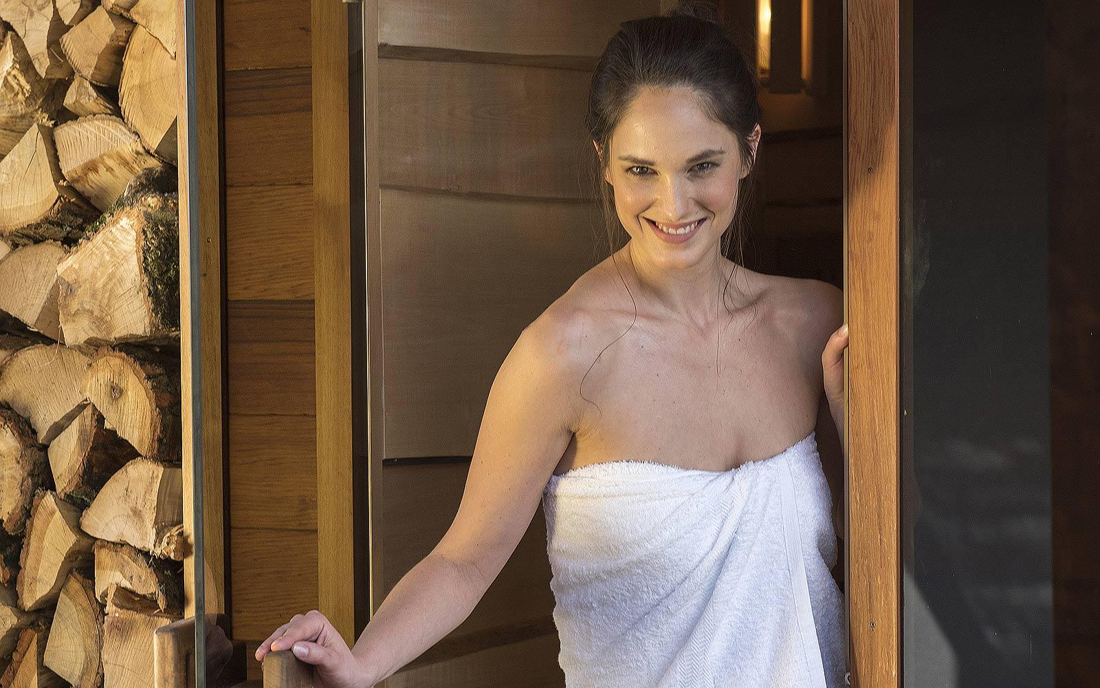 Díky sauně budete krásnější a štíhlejší