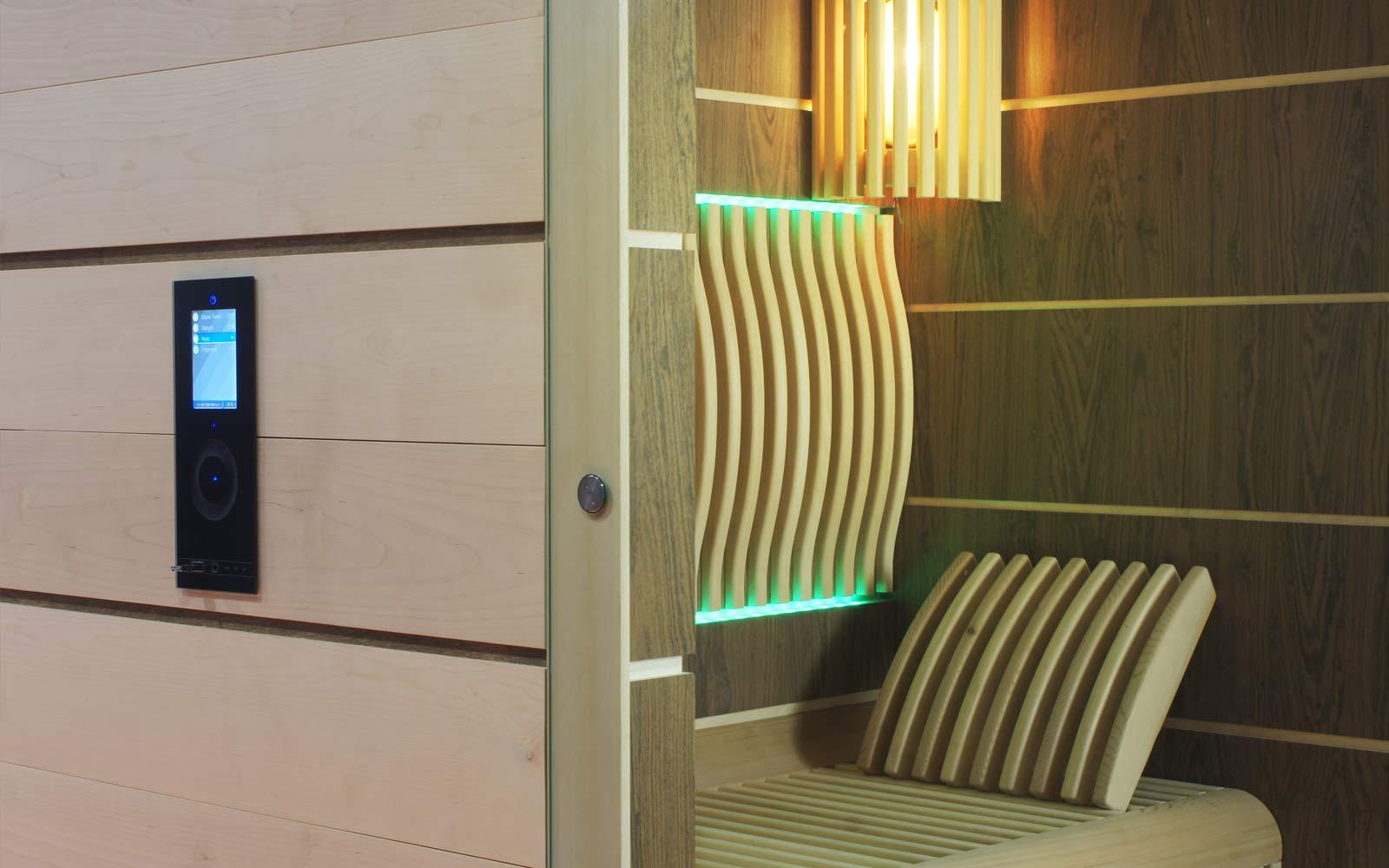 Dřevo v sauně můžete různě kombinovat dle vašeho přání