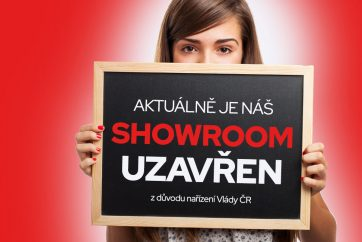 Showroom je uzavřen