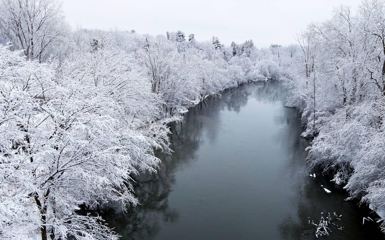 Ochlazení po saunování může být v zimě i vzduchem, když je venku dostatečně zima