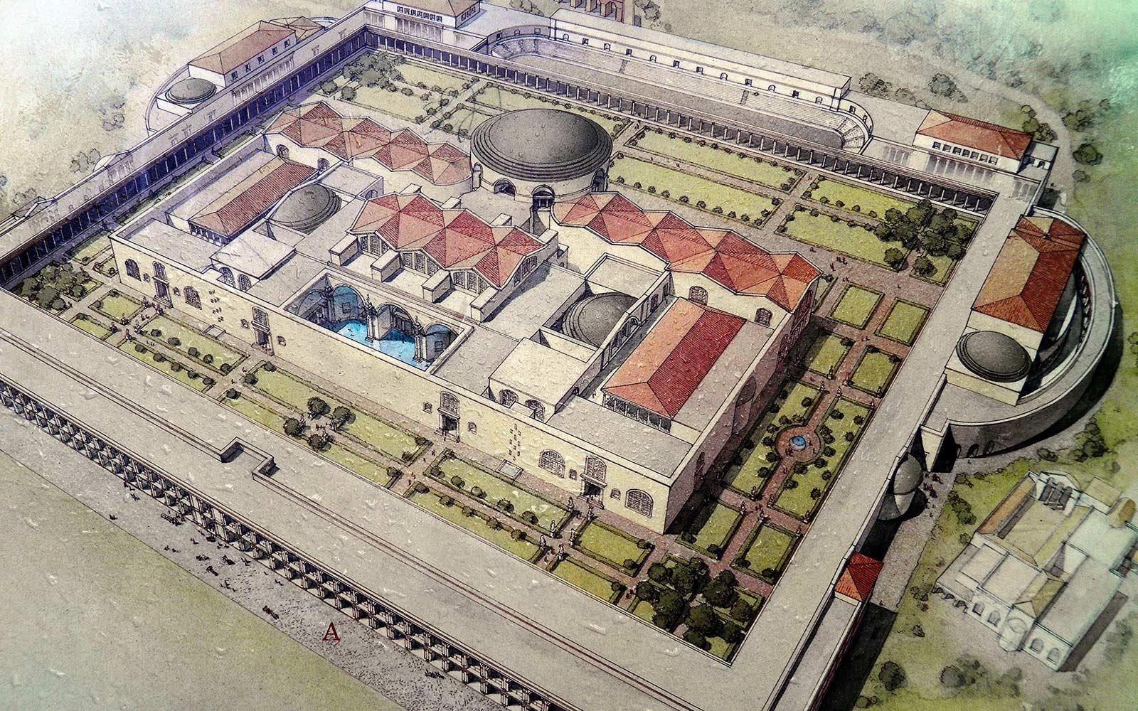 Caracallovy lázně v Římě