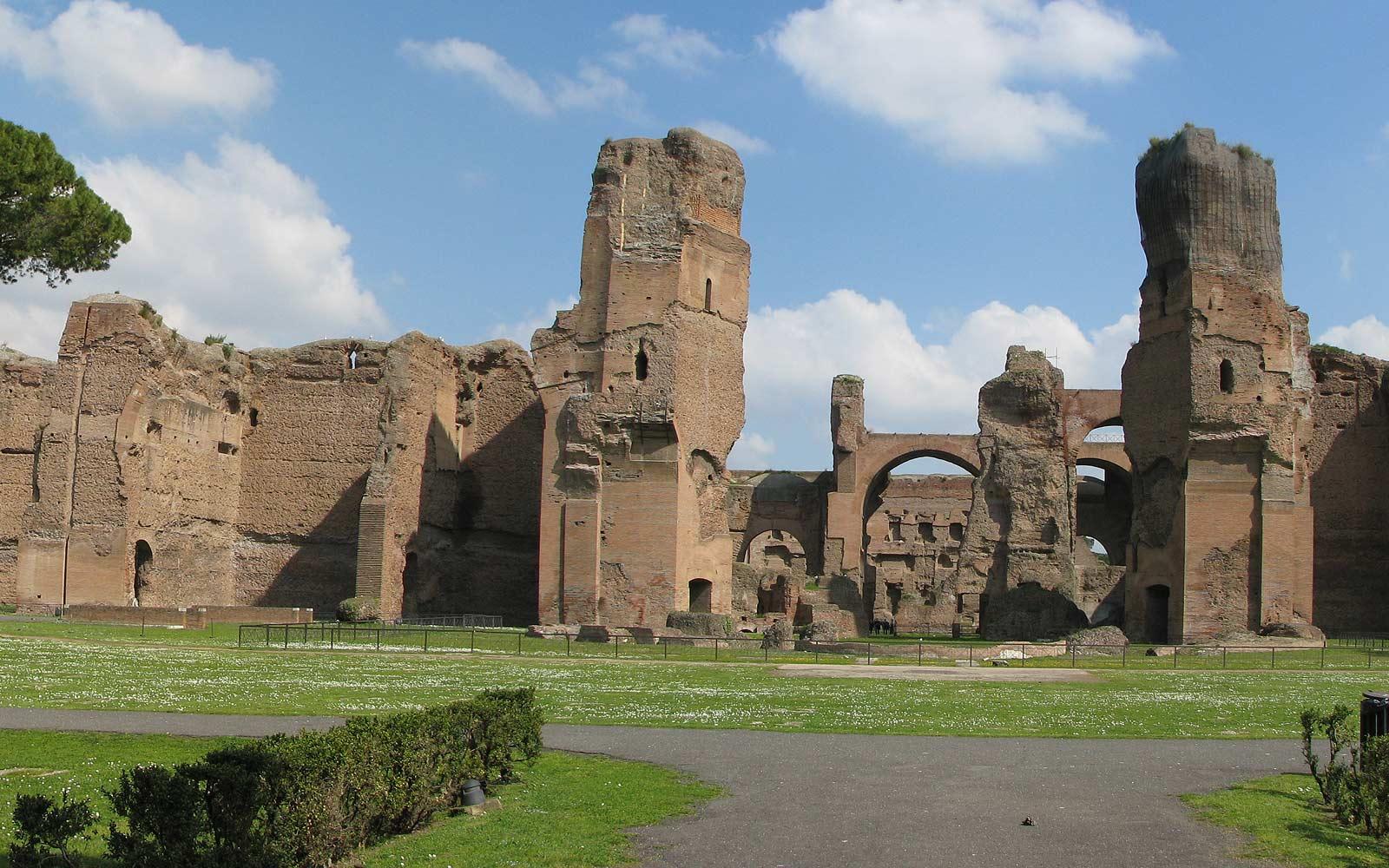 staré římské lázně