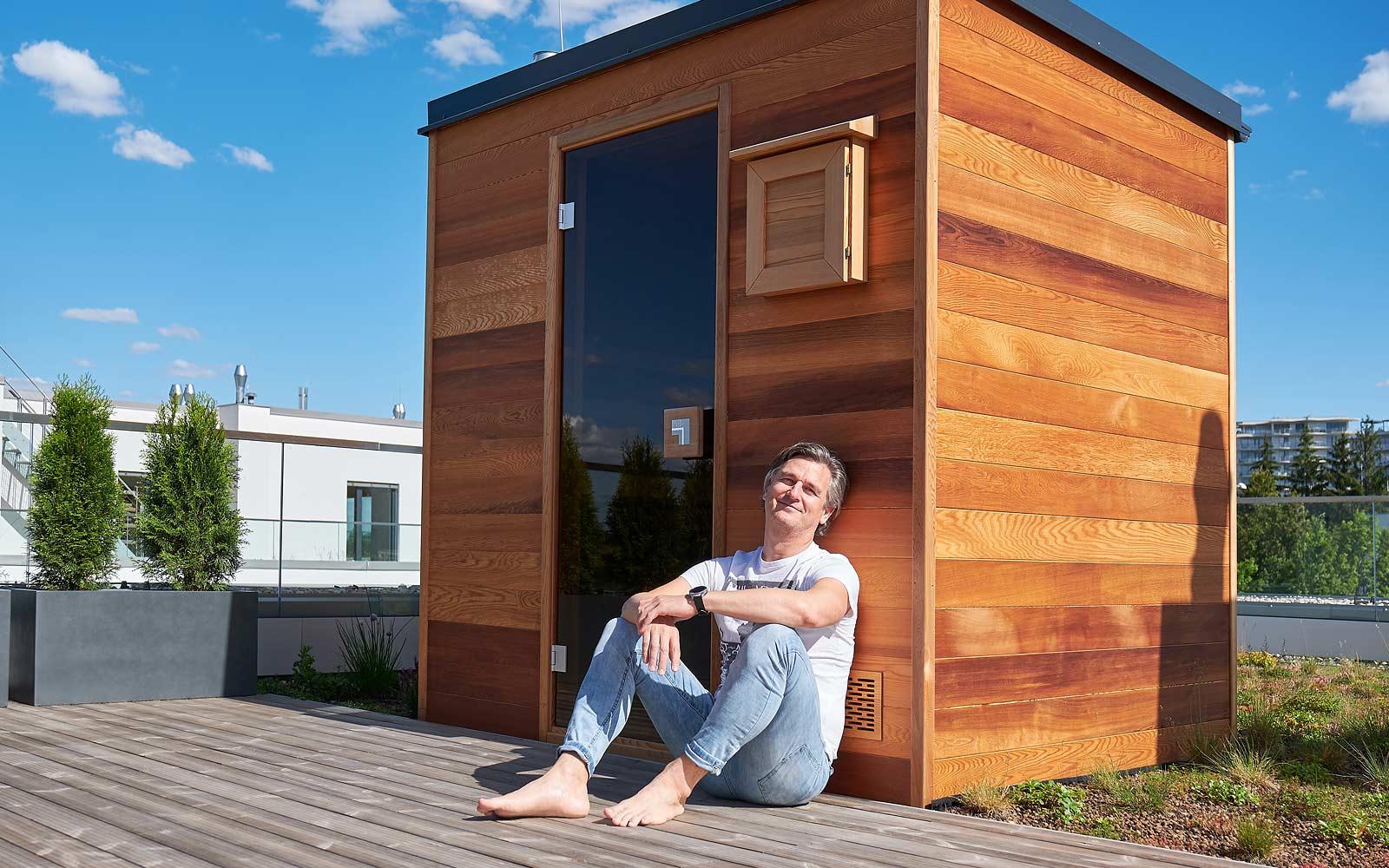 Užívejte si domácí saunování i s krásným výhledem
